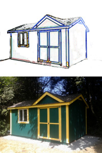 Custom built shed chilliwack